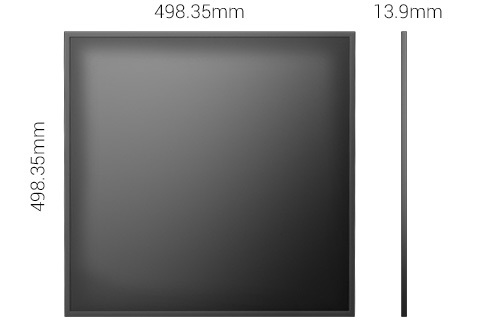 Ultra Thin Square LCD