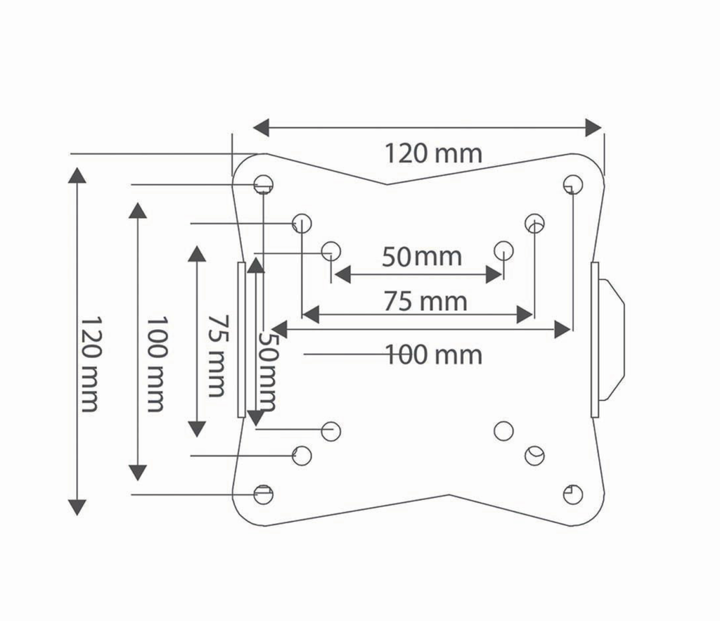 Wall Bracket for Small Screens (up to 30kg)