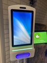15.6inch Sanitizer Display - TouchScreen - FreeStanding