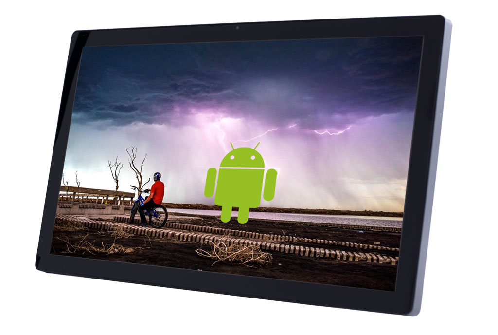 32inch Android Display - TouchScreen  - Front-2