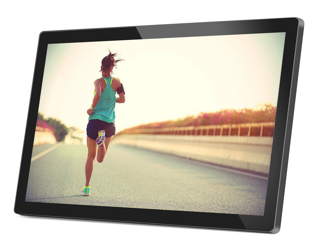 24inch Android Display - Touchscreen - Front - 3