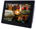 13,3inch Touch Monitor - Plastic Housing - HDMI IN