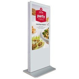 [RS-5502AIO-INFOKIOSK-2SIDED] 55inch Kiosk - Android Display - Totem - 2 Sided