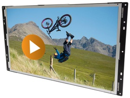 [AC-240OMF-HD-MULTI] 24inch MediaScreen with Multi Features Board